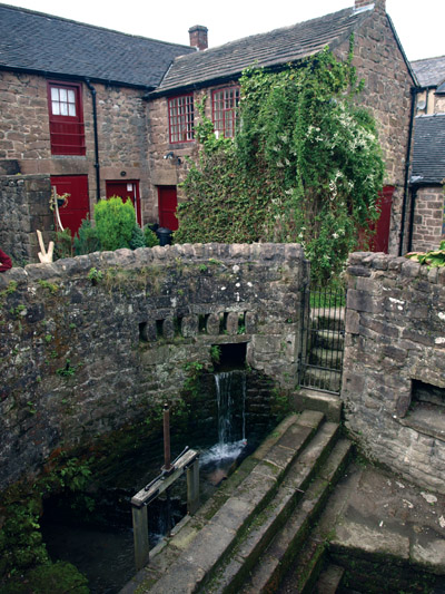 Cromford Sough sluice